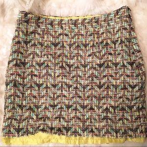 Colorful KATE SPADE Mini Skirt Size 10